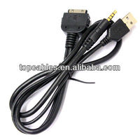 Professional cables factory direct selling mini usb to aux cable