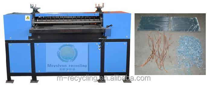 Waste Copper Aluminum Recycling Machine radiator panel production line