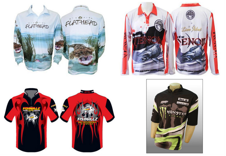 New design tournament fishing jersey sublimation fishing for Fishing team shirts