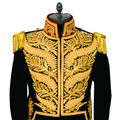 BRAIDED & EMBROIDERED MILITARY JACKET Uniform