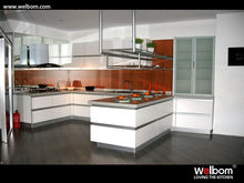 2013 New Design High Quality MFC Kitchen Cupboard