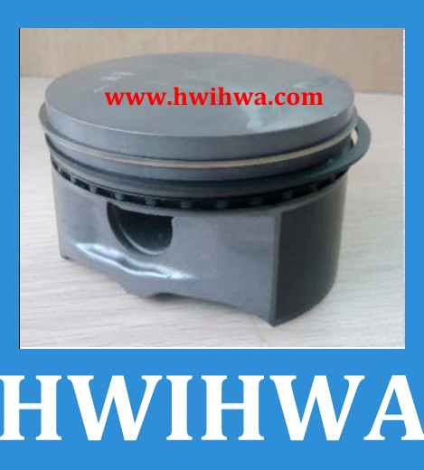 Automobile engine phosphated M111 90.9mm piston with part No. 0010700