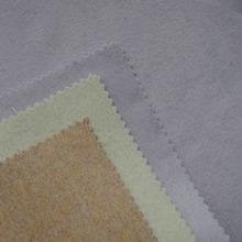 Fabric Wool Cashmere Plain Woven Cloth Material Wool Polyester