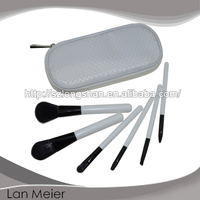 6pcs cosmetics brush set with synthetic hair