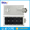 China manufacturer high power all in one integrated solar led street light,Integrated solar