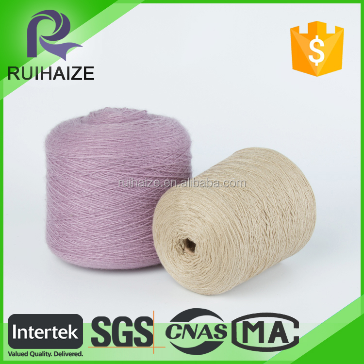 Low Price acrylic/cotton blended flame retardant yarn with Trade Assurance