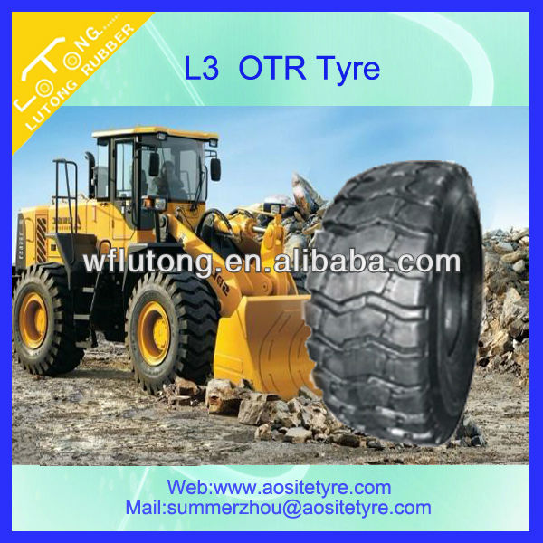 Bias otr tire used in mining,quarry and all kinds of construction area