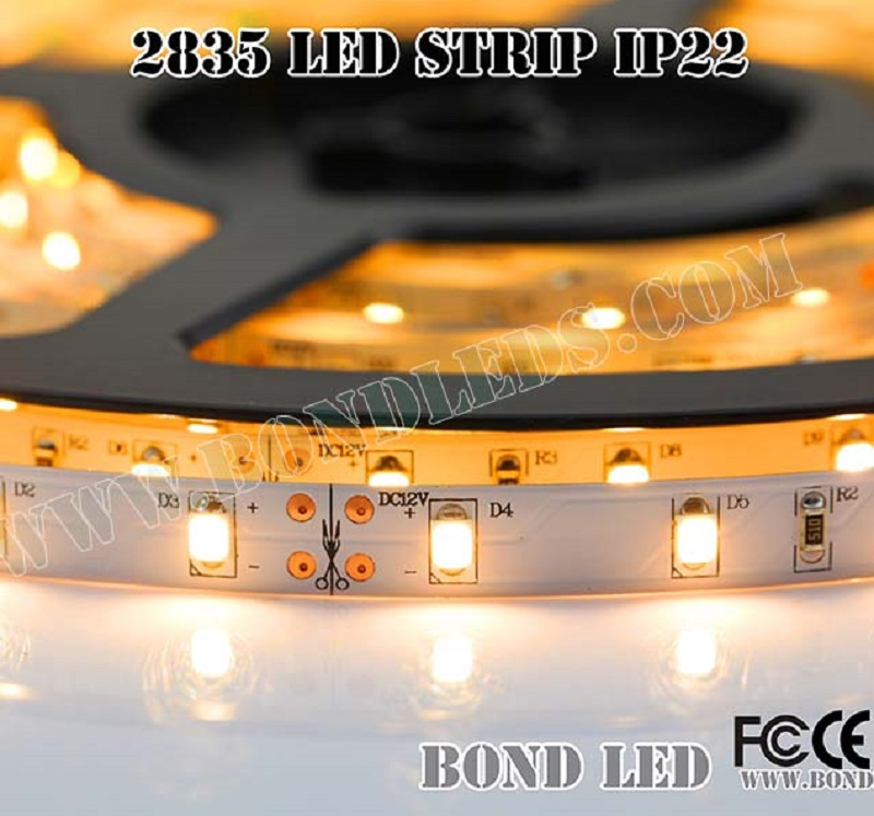 High quality aluminum profile strip led light waterproof <strong>rgb</strong> 2835 led strip