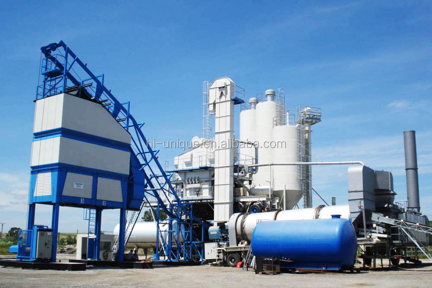 Hot sale new 80t/h portable asphalt plant