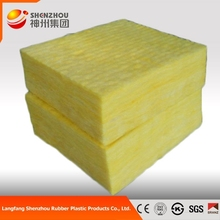 Big discount roof heat insulation materials glass wool panels prices for roofs