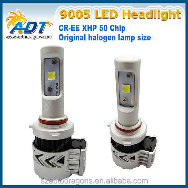 G8 LED Headlight Conversion Kit 9005 Single Beam 6500K 12,000LM Brighter than HID