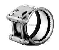 GRIP -GZ Reinforced Axially Restrained Coupling with Steel Strip Insert