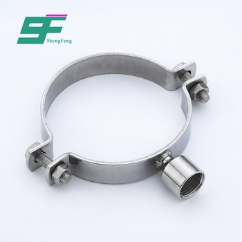 ShengFeng sanitary stainless steel ss304 high pressure pipe clamps