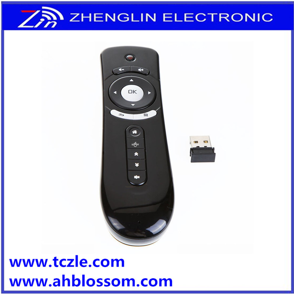 Hot Selling 2.4g p3 wireless nobel tv remote control