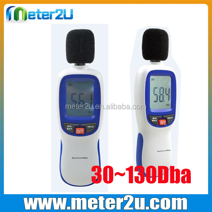 Cheap sound level meter 30~130Dba noise meter