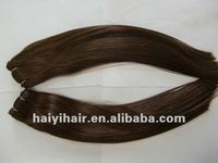 Natural straight peruvian hair weaving Human hair pieces for girls Tangle free Shedding free