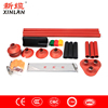 high voltage heat shrinkable cable accessories 10/11kv three-core outdoor heat shrink termination kits