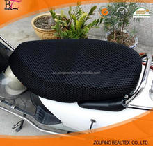 Hot sale 100 polyester tricot spacer air mesh fabric motorcycle seat cover