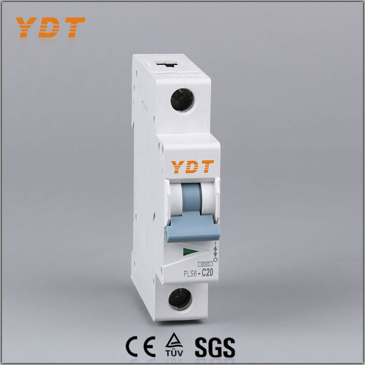 YDT mg mcb, new style mcb, standard circuit breaker ratings