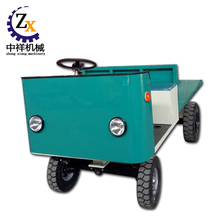 Long distance electric flatbed tricycle