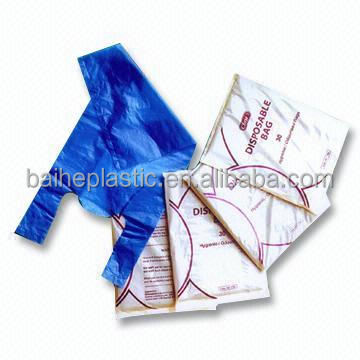 HDPE Plastic t-shirt disposable Carry Bags Manufacturer