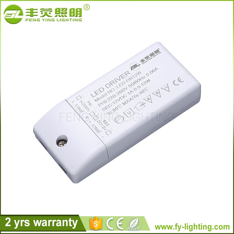 High Quality approved 3w led driver 12v 300ma ce