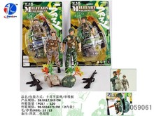 2014 Hot Sell Toy Soldier Set Plastic Toy Soldiers