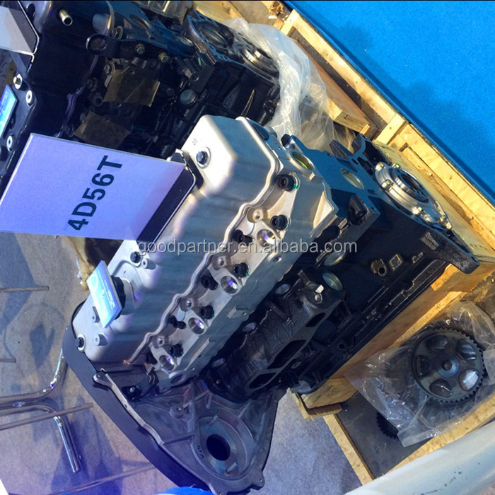 High Quality 4D56T 4D56 Complete Engine Block for Mitsubishi Diesel Engine for Sale