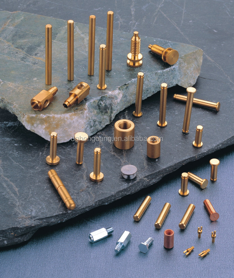 Precision Lathe Turning Brass Dowel Pins