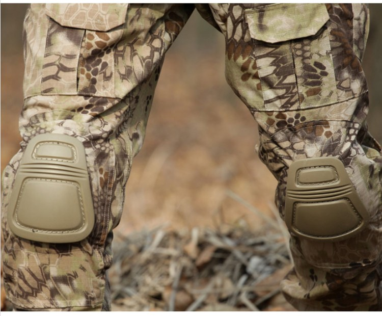 Military Durable Gel R-cap Style Light Knee and Elbow pads/ Factory Wholesale