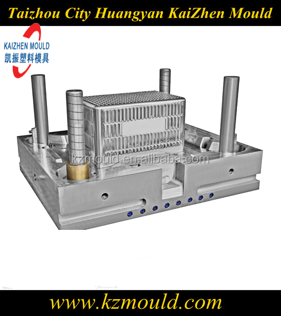 Injection plastic turnover case mould commodity crate mould
