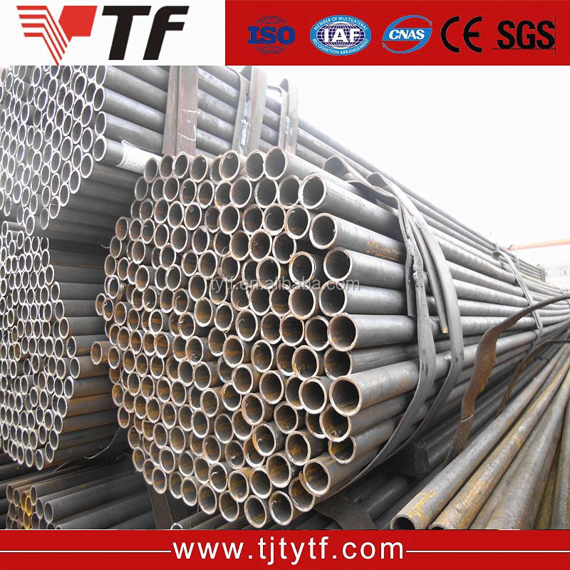 Wholesale distributors round fabricated sch80 welded steel tube