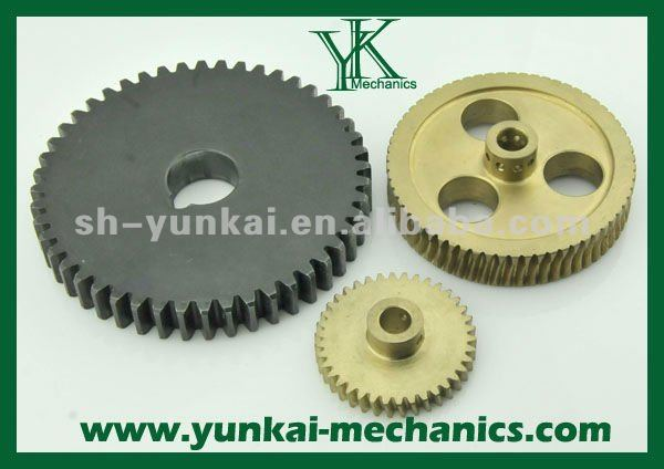 Professional Customized Gear Parts Production via CNC Machining Parts