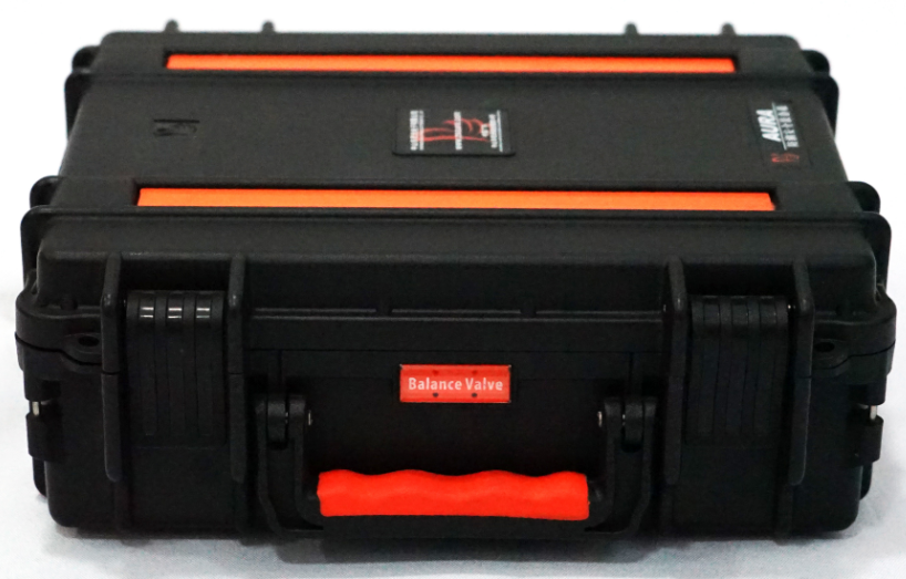 AURA AI-2.6-2007 Gun Safe With Combination Lock Plastic Tool Box locking Carrying Case Army Military Case
