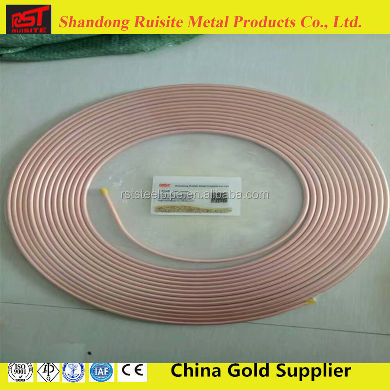 "air conditioning pure 0.030"" 0.035"" thickness copper pipe in India in Mueller Industries(WHATSAPP:+86 18463591456)"