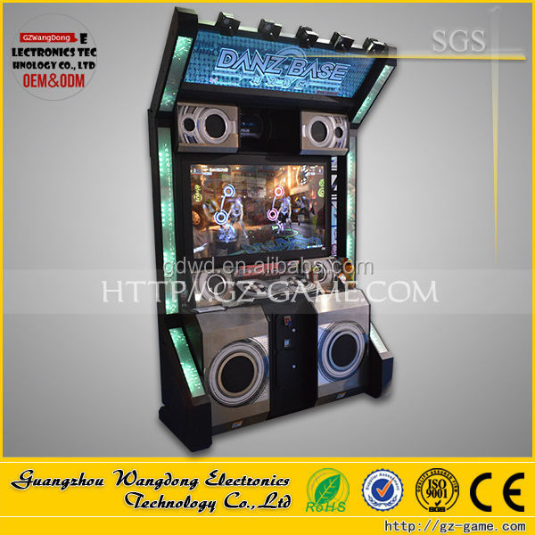 Dance Revolution Indoor arcade dancing machine cheap Music simulator machine from Wangdong