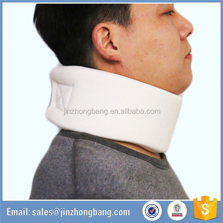 air pump neck traction pain airport cervical collar neck support device