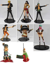OEM made PVC Japanese anime one piece luffy Nami zero Chopper action figure toys