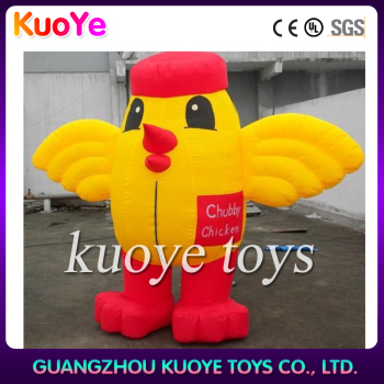 inflatable chicken,2.5m inflatable chicken,hot inflatable chick