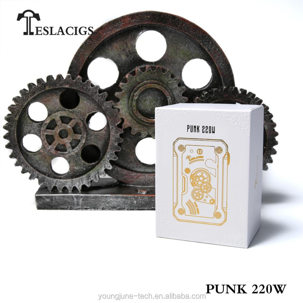 Teslacigs Punk mod 220W leading best mod 2017 and 2018 vape mods
