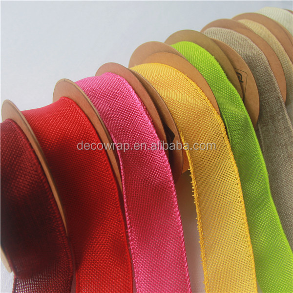 For Decoration Highly Breathable Jute Ribbon