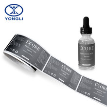 Good quality Low price label sticker roll , clear adhesive sticker label