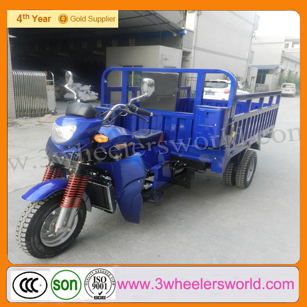 Chongqing new design electric three wheel cargo motorcycles/paramotor trike for sale
