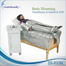 far infrared air pressure pressotherapy detox slimming machine