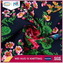 Online shopping multicolor printed ladies terry wool fabric