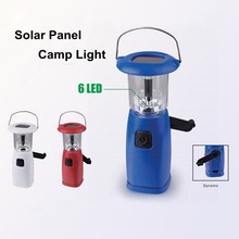 (1500355) High Quality Silicon Solar Panel China LED Dynamo Camp Lantern