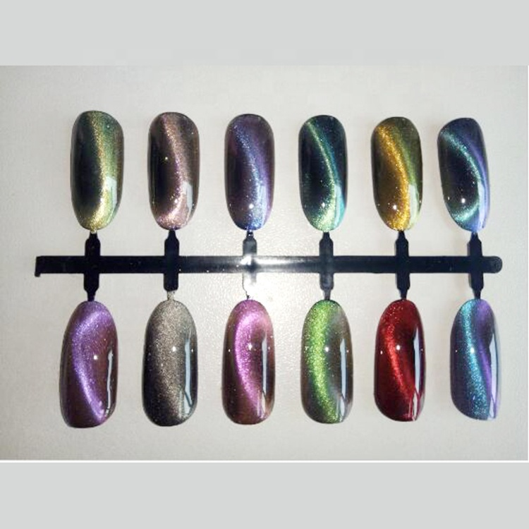 Nails holographic pigment <strong>colorful</strong> chameleon pigment powder