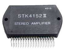 Thick Film Hybrid IC STK4152II AF Power Amplifier Split Power Supply