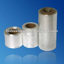 SQ 15mic/19mic clear pof shrink film in rolls for box package