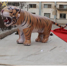 high quality custom giant inflatable tiger advertising decoration
